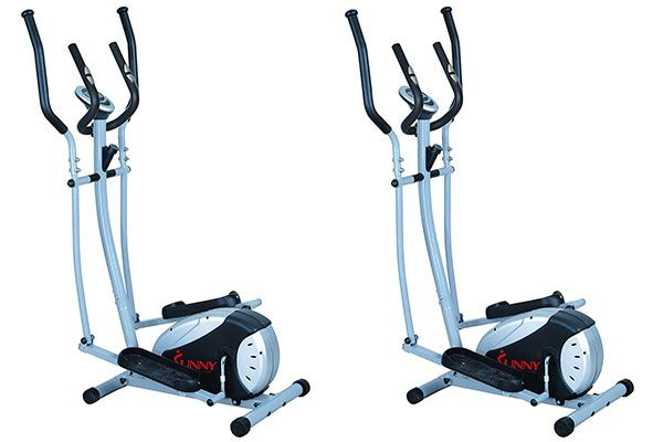 Elliptical Trainer With Hand Pulse Monitoring System Elliptical