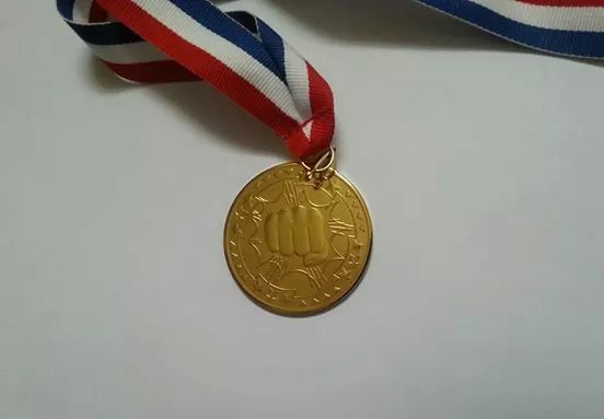 Medal for winning IBSDF Championships 2014