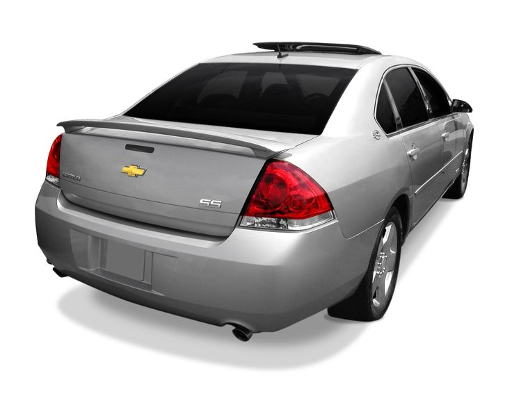 2006 - 2013Chevrolet Impala Factory Style Pedestal Rear Deck Spoiler http://www.sportwing.com/imp08-chevrolet-impala-factory-style-pedestal-spoiler