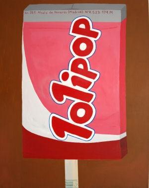 Jonna Pedersen - POP a Lolly  100 x 80 cm