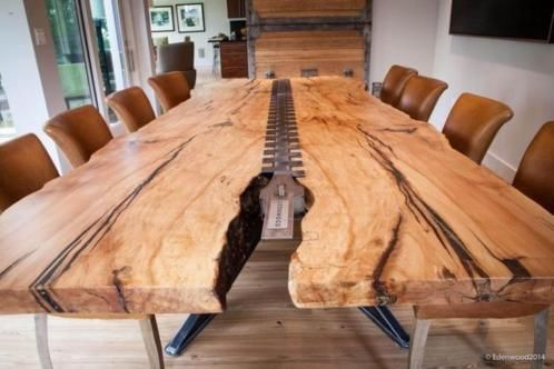 506 best Holz images on Pinterest Diner table, Dining rooms and - couchtisch aus massivholz 25 designs