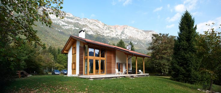 casa prefabbricata in legno rubner haus casa residenz aldeno tn pinterest haus. Black Bedroom Furniture Sets. Home Design Ideas