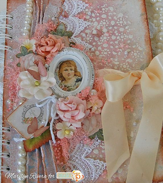 A Shabby Chic Notebook- Video Tutorial