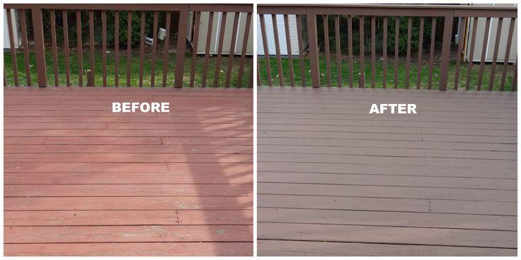 Best wood deck paint