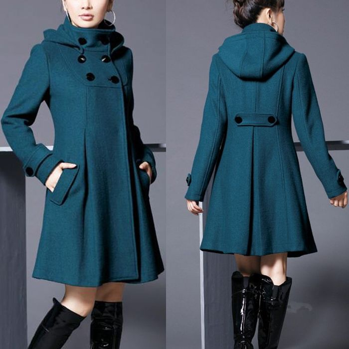 como hacer un abrigo para mujer - Buscar con Google
