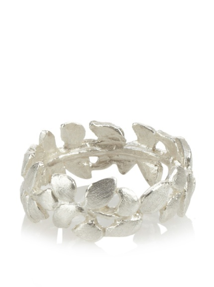 Small Wisteria Sterling Silver Ring