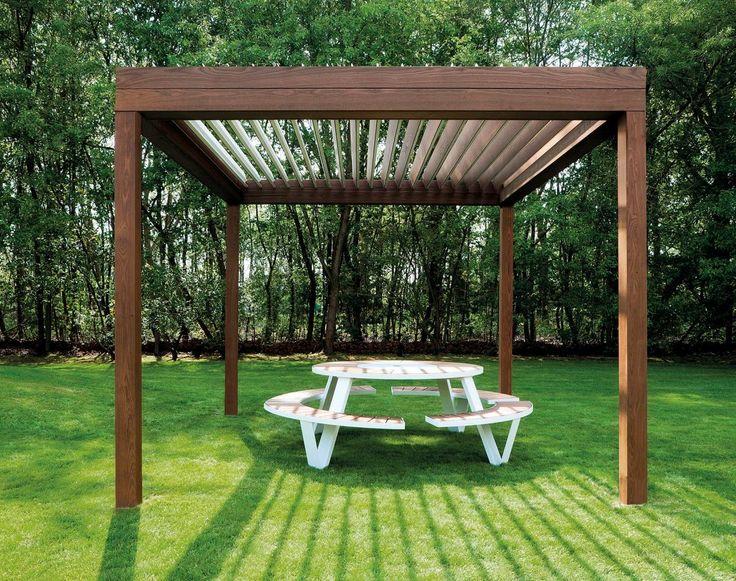 Best 25 pergola pavillon ideas on pinterest - Hout pergola dekking ...