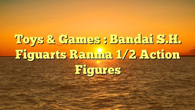 Toys & Games : Bandai S.H. Figuarts Ranma 1/2 Action Figures - http://4gunner.com/toys-games-bandai-s-h-figuarts-ranma-12-action-figures/