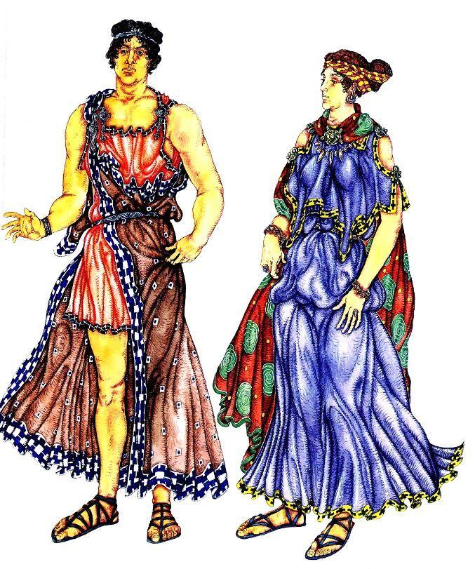 одежда древнего греции в картинках научное название значит