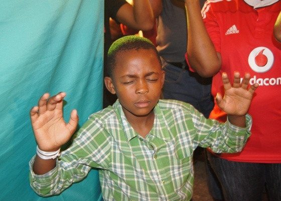 ZAMDELA - There is no age restriction when it comes to experiencing the power of God!