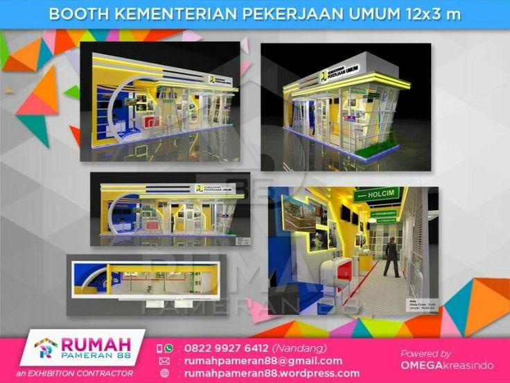 Kontraktor Booth Pameran|www.rumahpameran.com|082299276412
