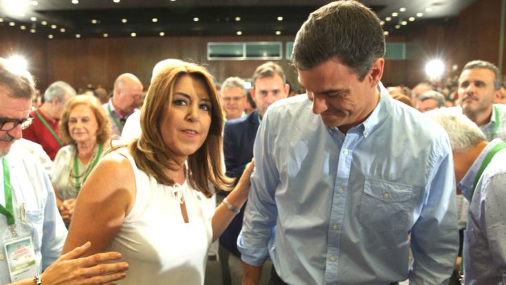 Susana avisa a Sánchez: si se alía con ERC y PdCat no tendrá el apoyo de 18 de los 20 diputados andaluces