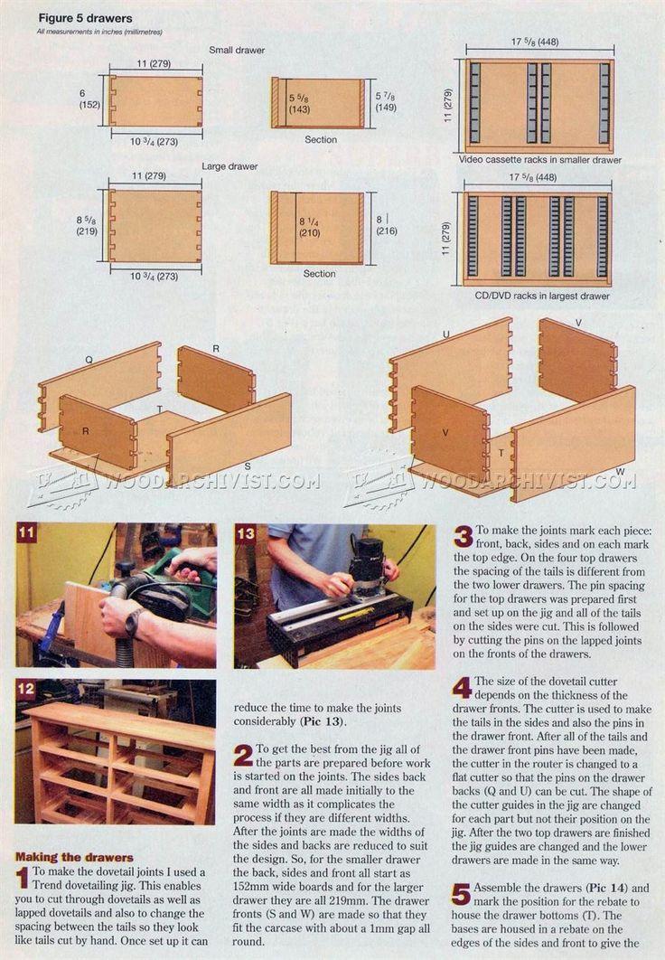 62 mejores im genes de meubels en pinterest carpinter a for Planos de carpinteria de madera