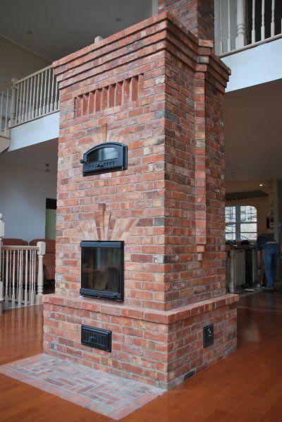 masonry Heater by Marcus Flynn