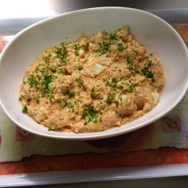 Rezept Thunfisch-Aufstrich von mk691 - Rezept der Kategorie Saucen/Dips/Brotaufstriche