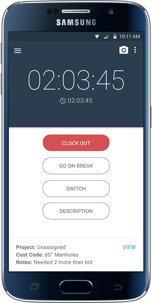 employee time tracking app for iphone