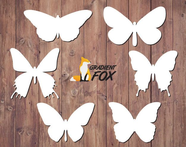 Butterfly SVG Bundle, butterfly Clipart, vector butterflies, vector butterfly, butterfly cricut, butterflies svg, butterfly svg by GradientFox on Etsy