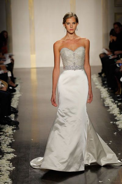 17 best images about gowns with extra sparkle on pinterest for How much is a lazaro wedding dress