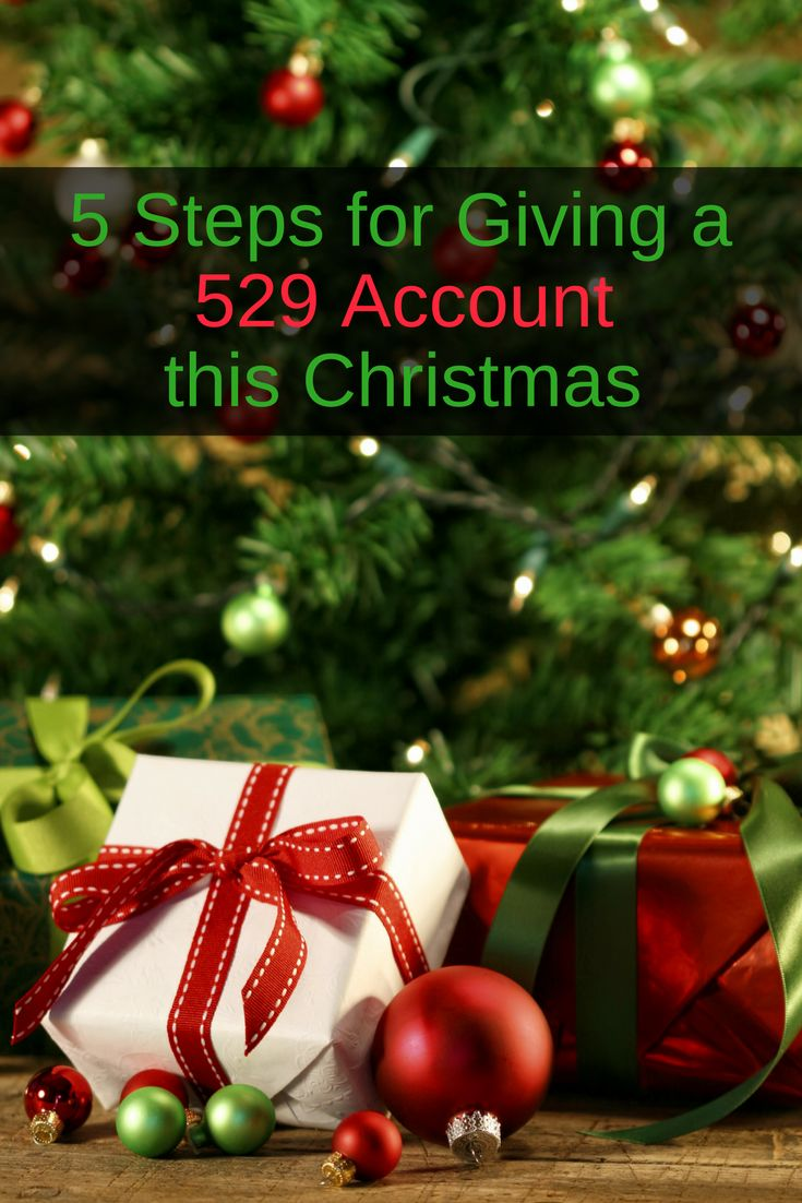 5 Steps for Giving a 529 Account this Christmas - https://www.doughroller.net/education/5-steps-giving-529-account-christmas/?utm_campaign=coschedule&utm_source=pinterest&utm_medium=DoughRoller.net&utm_content=5%20Steps%20for%20Giving%20a%20529%20Account%20this%20Christmas