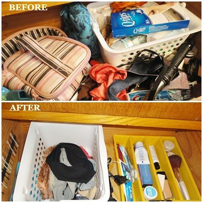 The Bathroom Drawer- From Chaos to Beautiful Order in Under $2.50 via thefrugalfoodiemama.com
