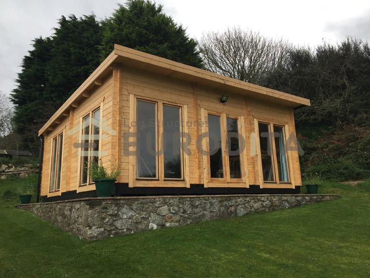 Eurodita laminated log houses