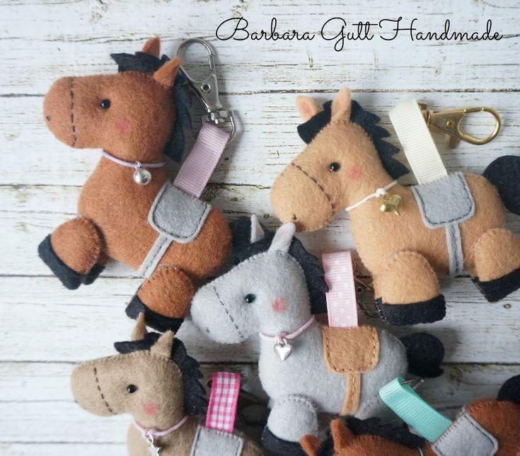 INSPIRATION: Barbara Handmade...: Filcowe koniki / Felt horses