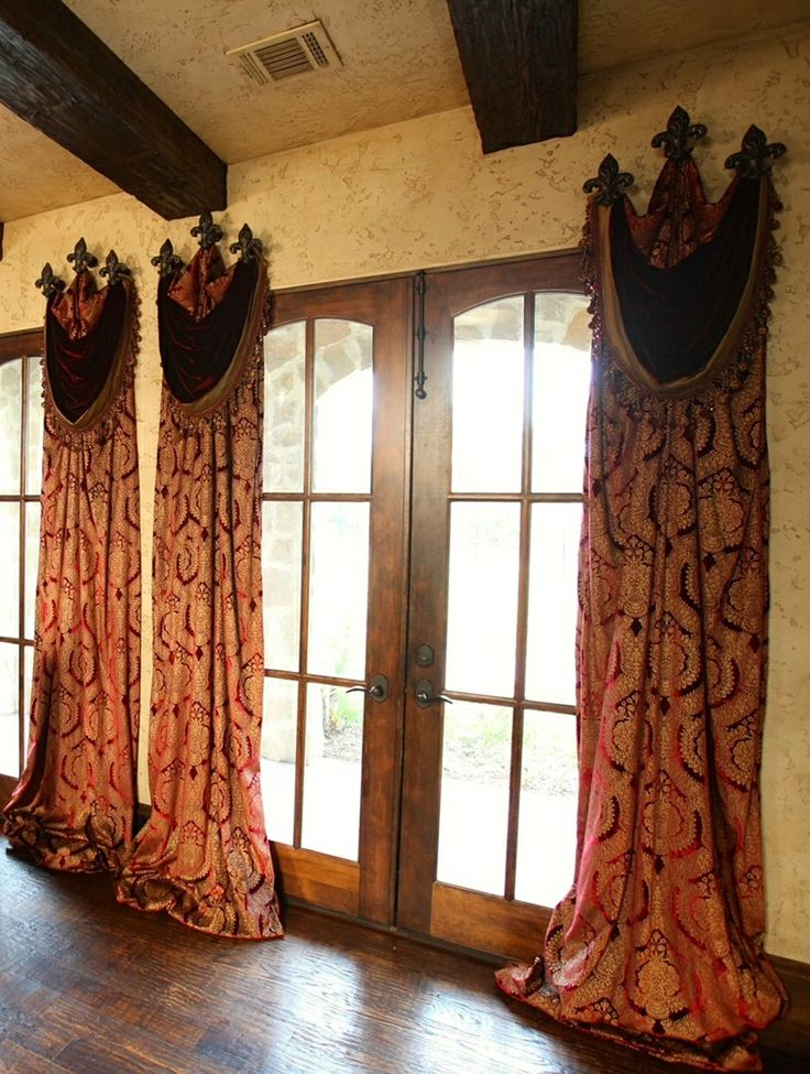 1000 ideas about medieval home decor on pinterest for Old world window treatments