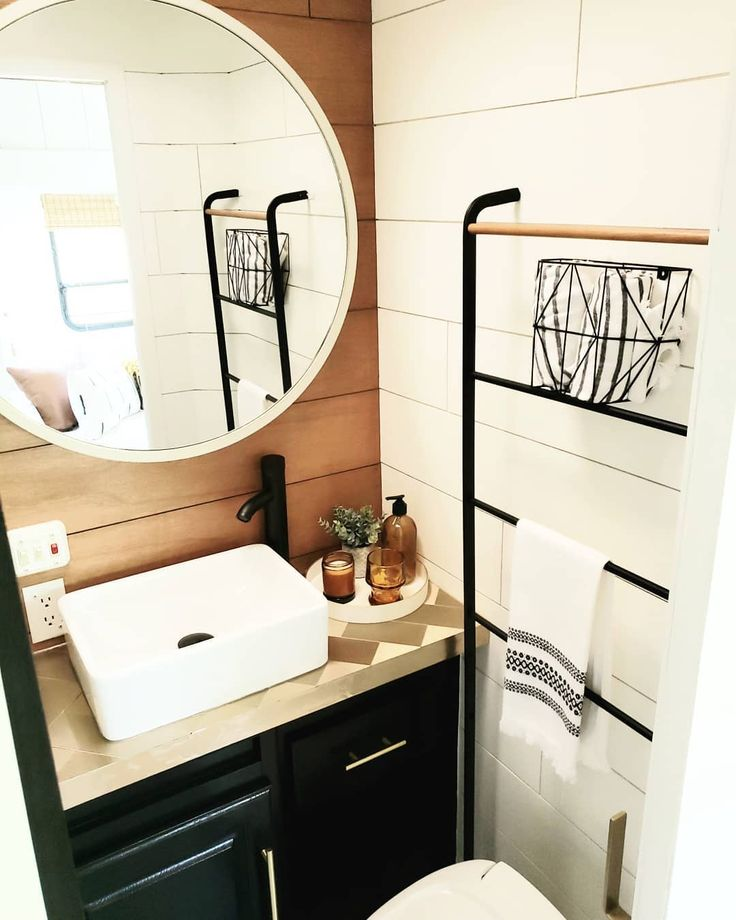 80 Jaw-Dropping RV Bathroom Renovations • The Motorized ...