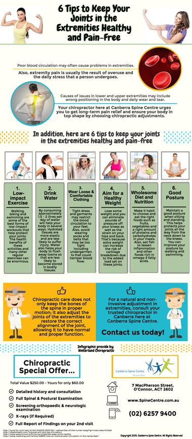 6 Tips to Keep Your Joints in the Extremities Healthy and Pain-Free www.spinecentre.com.au