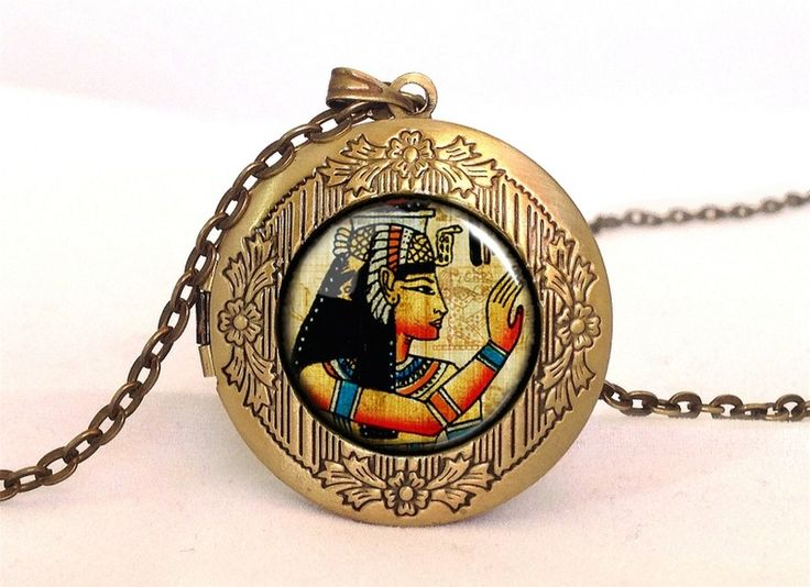 HIEROGLYPHICS Locket, 0634LPB from EgginEgg by DaWanda.com