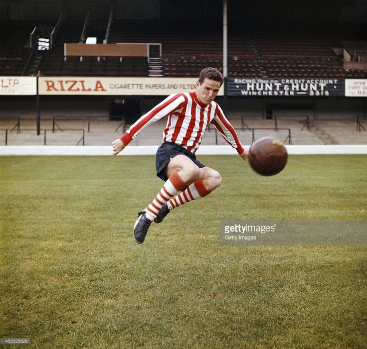 Southampton player Terry Paine in action at the Dell circa 1965 Paine went on to make 713...