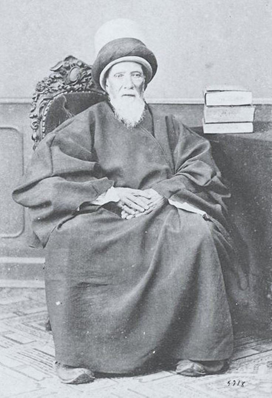 An Ottoman Mevlevi Sheikh, 1890s (Bir Osmanlı Mevlevi Şeyhi)