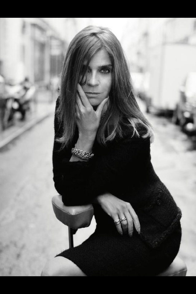 One of the greatest Muse of all time, Carine Roitfeld
