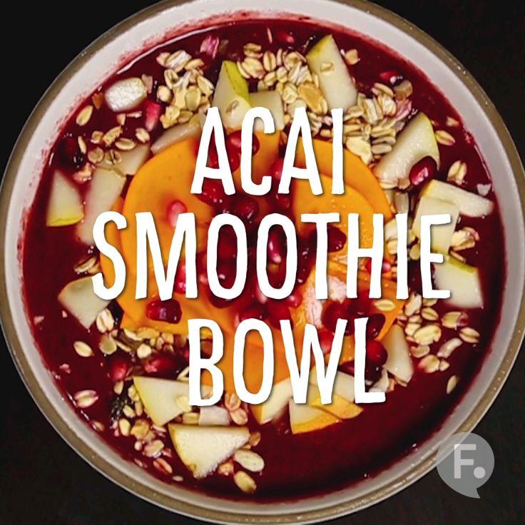 Breakfast Hack: Acai Smoothie Bowl
