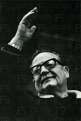 Retrato Salvador Allende