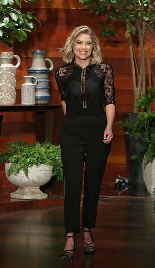 Ashley Benson - on Ellen April 1st