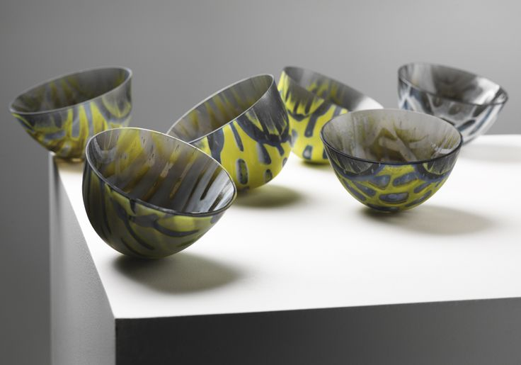 Bouy Boys - Kiln formed glass vessels (image by Shannon Tofts) Amanda Simmons