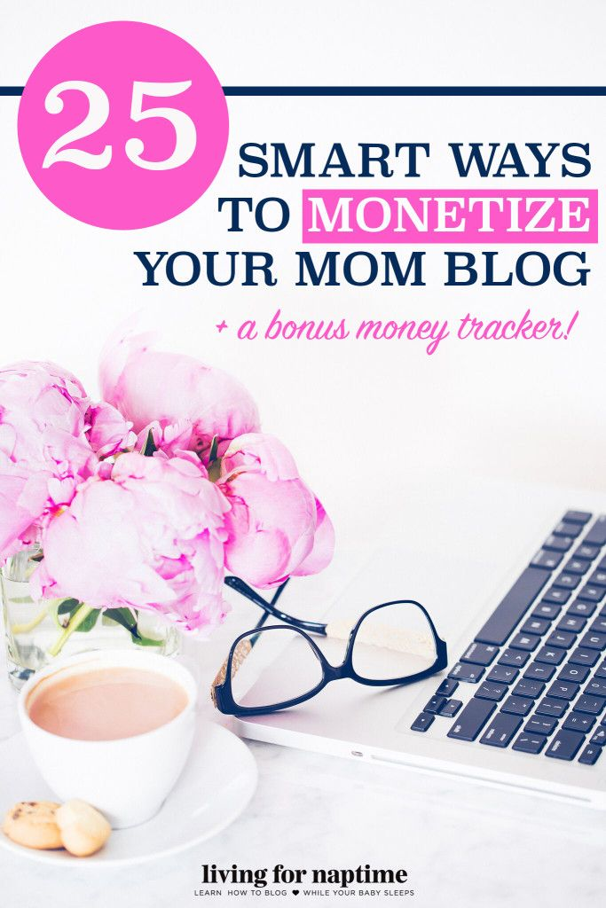 Great list of different ways to monetize your mommy blog and earn money by writing blog posts.