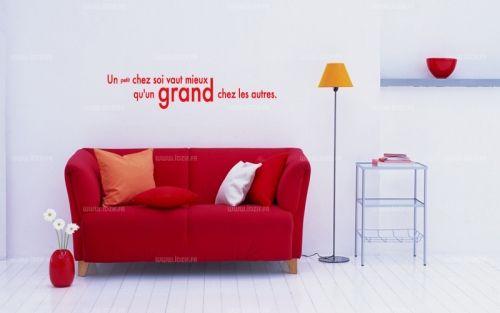 Sticker citation : Un petit chez soi vaut mieux qu'un grand chez les autres  http://www.idzif.com/idzif-deco/stickers-muraux/stickers-citations/produit-sticker-citation-un-petit-chez-soi-vaut-mieux-qu-un-grand-chez-les-autres-2024.html