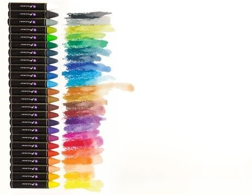 Prima Artist Quality Oil Pastel Crayons 24 Colors