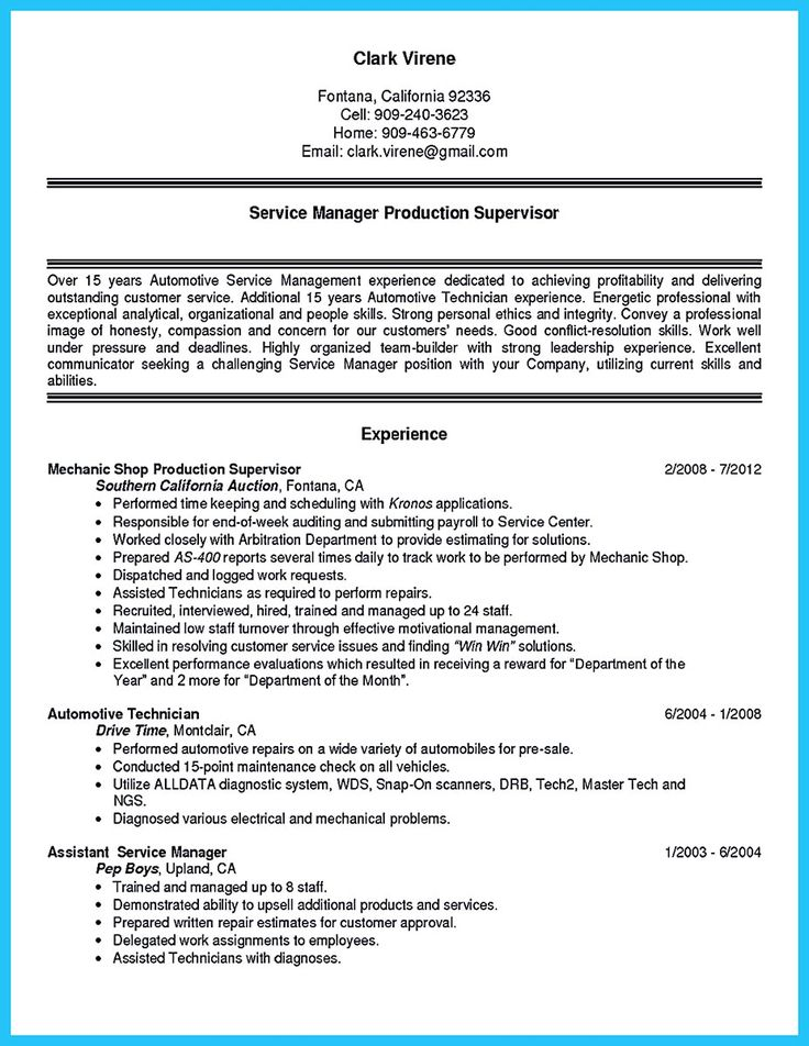 Before starting to write an auto technician resume, you need to learn how to write it well. In this case, some criteria are crucial to consider. One o... auto mechanic resume sample and automotive technician resume objective Check more at http://www.resume88.com/writing-a-concise-auto-technician-resume/