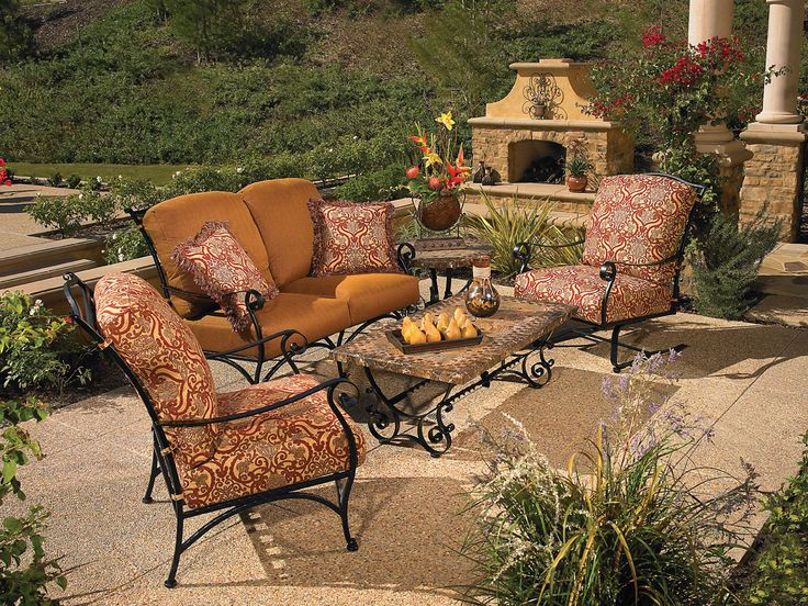 Wrought Iron Patio Table And 4 Chairs best 10+ iron patio furniture ideas on pinterest | mosaic tiles