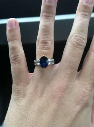 Image result for melissa ambrosini engagement ring