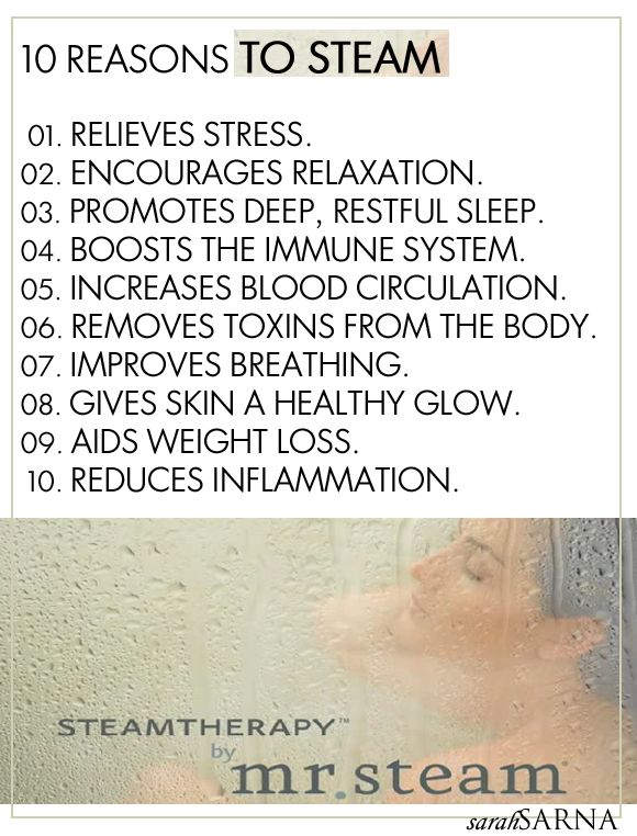 10 Reasons to Steam with Mr. Steam | Live The Life You Dream About | Lifestyle Blog by Sarah SarnaSarah Sarna | A Fashion, Beauty, and Decor Blog |