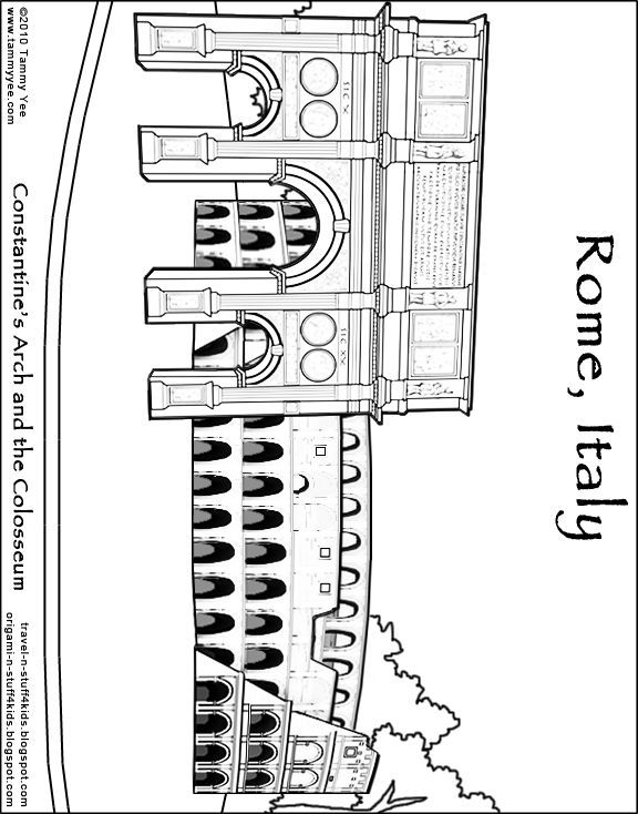 italy coloring pages for kids   16 best Educational Coloring Pages images on Pinterest ...