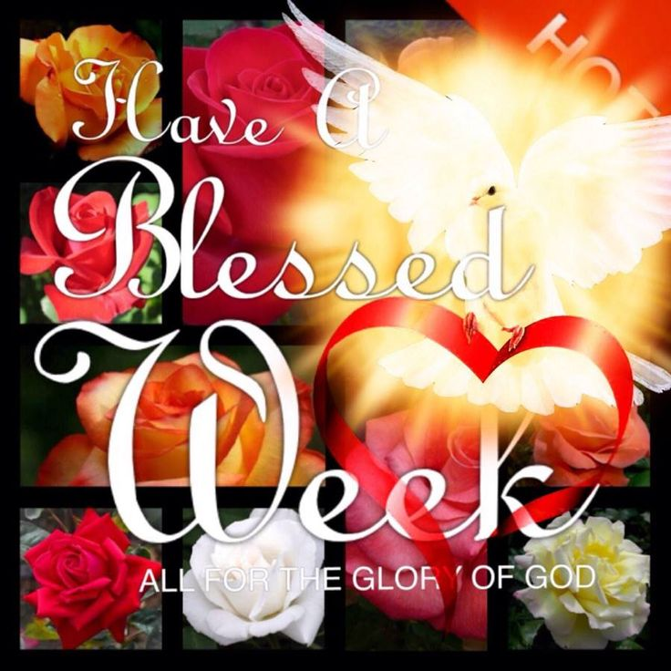 Have a Blessed Week!!