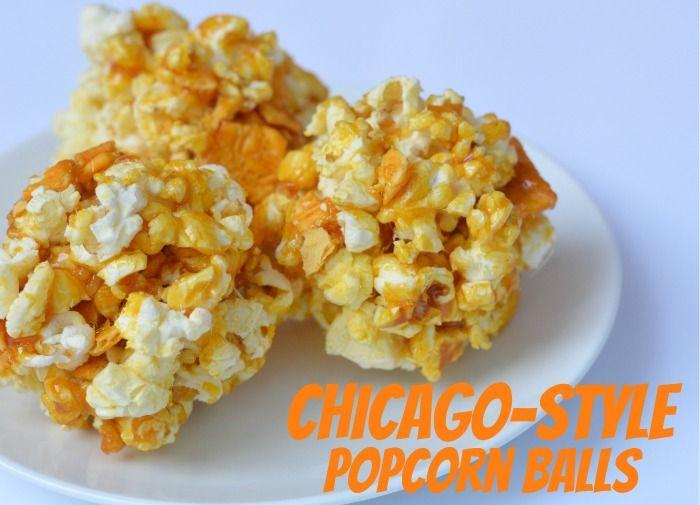 Chicago-style popcorn balls #AvengersUnite #ad #cbias
