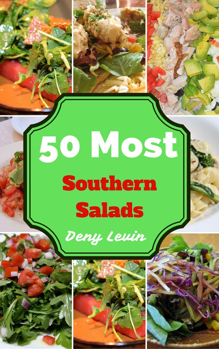 Southern salads are well known in the southern part of U.S. They include many ingredients and are very delicious. There is something for anybody. Here are some kinds of them : Fruit salad, Celery Victor, Meat salad, Mixed salad with vegetable, Cabbage salad, Seafood salad, Michigan salad, Seven-layer salad and many more.