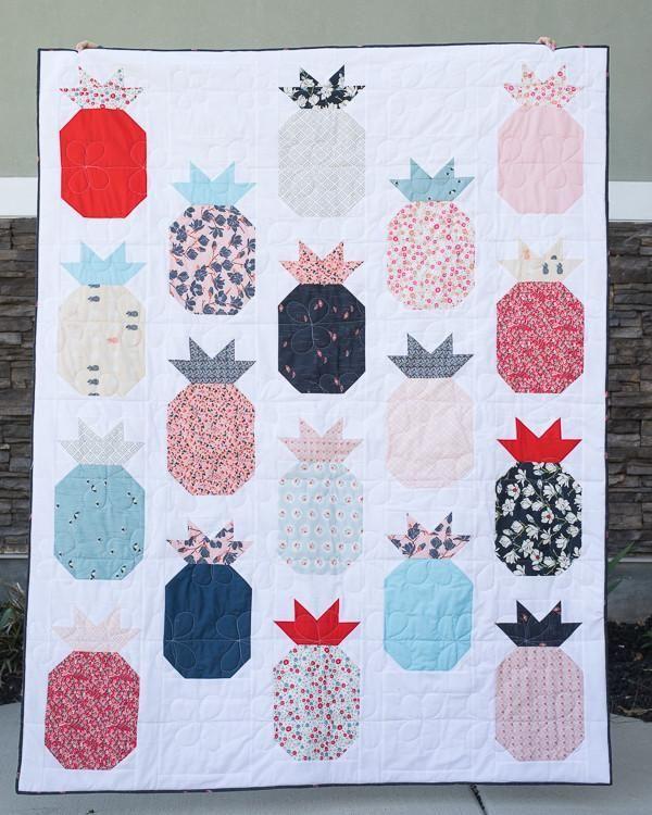 Pineapple Quilt Pattern - PDF Pattern