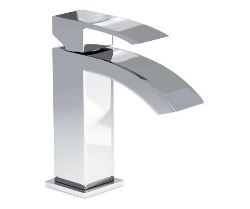 Vaux Modern Mini Basin Mixer Tap - V40111116VA front_angle square medium